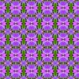 无缝美丽紫色兰花的花 皇族释放例证