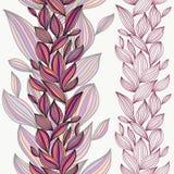 无缝美好的花卉的模式 免版税库存照片