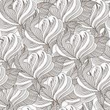 无缝美好的花卉的模式 免版税库存图片