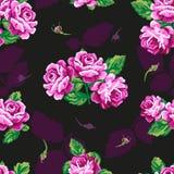 无缝美好的花卉的模式 库存照片