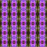 无缝美妙紫色兰花的花 皇族释放例证