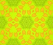 无缝背景五颜六色的花卉的模式 免版税库存照片