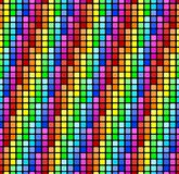 无缝背景的彩虹 向量例证
