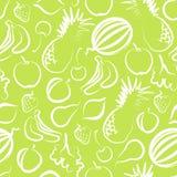 无缝背景的果子 免版税库存照片
