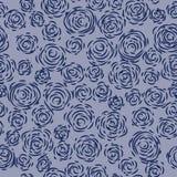 无缝背景的玫瑰 免版税库存图片