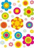 无缝背景花卉的模式 免版税库存照片