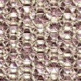 无缝背景crysal玻璃的彩虹 免版税库存照片