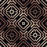 无缝艺术装饰的模式 皇族释放例证