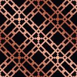 无缝艺术装饰的模式 库存例证