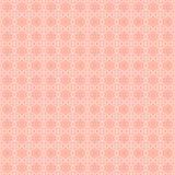 无缝花卉模式的粉红色 向量例证
