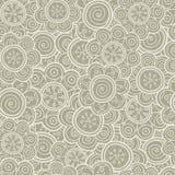 无缝花卉的模式 也corel凹道例证向量 背景 花卉形状 不尽的纹理可以为打印使用在织品上和 免版税库存图片