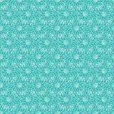 无缝花卉的模式 也corel凹道例证向量 库存照片