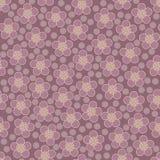 无缝花卉的模式 向量 图库摄影