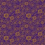 无缝花卉的模式 花纹理 雏菊 免版税库存照片