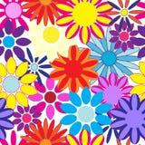 无缝花卉的模式 皇族释放例证
