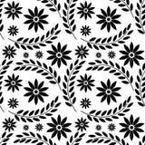 无缝花卉的模式 向量例证