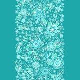 无缝花卉的模式 图库摄影