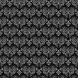 无缝花卉的模式 免版税图库摄影