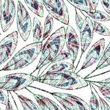 无缝花卉的模式 E 库存图片