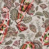 无缝花卉轻的模式 手拉的背景 五颜六色的背景 样式可以为织品,墙纸使用 免版税库存照片
