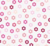 无缝花纹花样的粉红色 皇族释放例证
