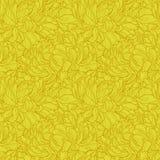 无缝菊花的模式 免版税库存图片