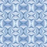 无缝蓝色的模式 库存图片