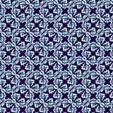 无缝蓝色的模式 皇族释放例证