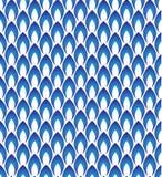 无缝蓝色的模式 图库摄影