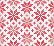 无缝被编织的模式 库存图片