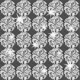 无缝金刚石的模式 库存例证