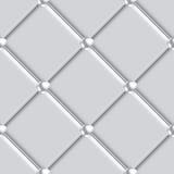 无缝银色室内装饰品的样式 库存例证