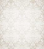 无缝锦缎花卉的模式 免版税库存图片