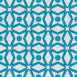 无缝阿拉伯几何的模式 皇族释放例证