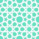 无缝阿拉伯的模式 免版税图库摄影