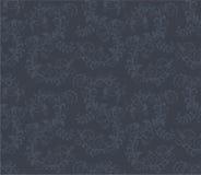 无缝黑暗的花卉灰色的模式 免版税图库摄影