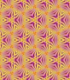 无缝,抽象和几何葡萄酒墙纸,紫罗兰色ye 免版税图库摄影