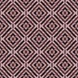 无缝,抽象和几何3D墙纸,紫色 免版税库存图片