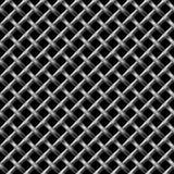 无缝metall净的模式 免版税库存照片