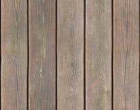 无缝tileable被风化的木板条的背景 免版税库存照片