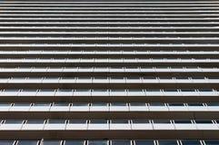 无表情,规范化的现代建筑学大厦 库存照片