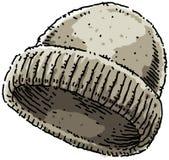 无边女帽 库存例证
