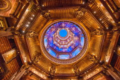 无锡灵山菩萨山风景区灵山梵蒂冈宫殿& x22; 天空Map& x22; 免版税库存照片