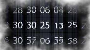 无限数字 数字迅速地改变 计数员 影视素材