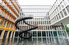 无限楼梯Olafur Eliasson在慕尼黑 免版税库存图片