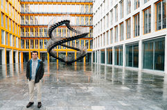无限楼梯Olafur Eliasson在慕尼黑 库存照片