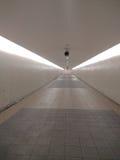 无限的走廊 库存照片