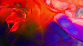 无限背景纹理的抽象颜色 股票视频