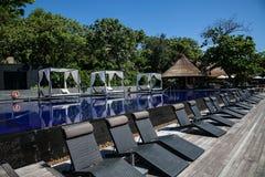 无限水池在泰国 库存图片