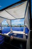 无限水池在泰国 库存照片